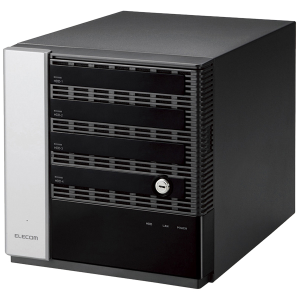 NetStor/BOX型WindowsNAS/Windows Storage Server 2012 R2/Workgroup Edition搭載/4Bay/12TB NSB-75S12T4DW2(FMDI007677)