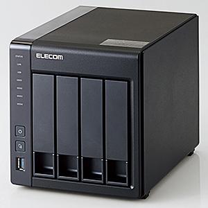 QNAP版 LinuxNAS/4Bay/8TB/NetStor7シリーズ NSB-7A8T4BL(FMDI007694)