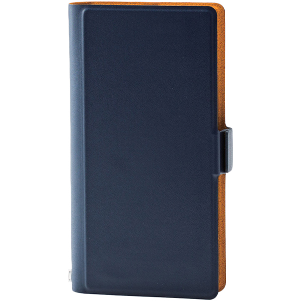 スマートフォン汎用ケース/ウルトラスリム/Lサイズ/5.2inch/ネイビー P-02PLFUMNV(FMDI007485)