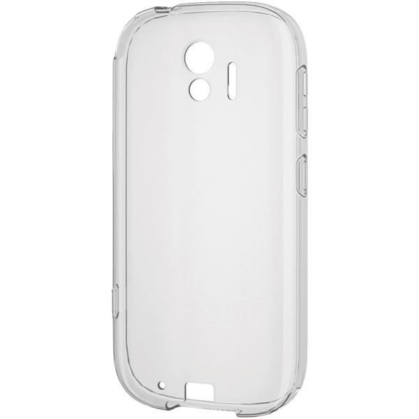 らくらくスマートフォン me用ソフトケース/極み/クリア PD-F03KUCTCR(FMDI010389)