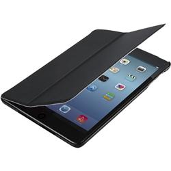 iPad mini(2012)/Retina(2013)用フラップカバー/液晶保護フィルム付/ブラック TB-A13SPVFBK(FMDI009663)