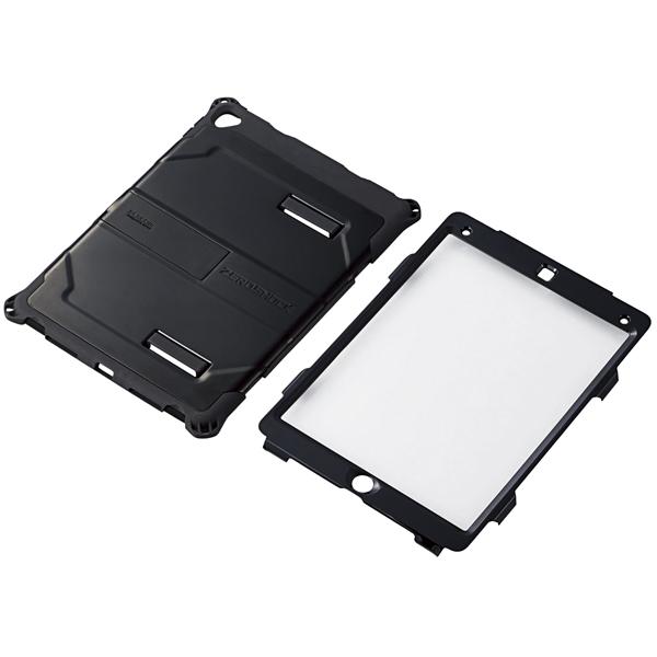 9.7インチiPad Pro用ZEROSHOCK HARDケース/フルプロテクト/ブラック TB-A16HVBK(FMDI009676)