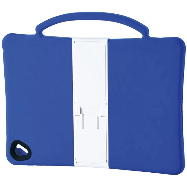 9.7インチiPad Pro/iPad Air 2用耐衝撃シリコンケース/子供向け/ブルー TB-A16SCSHBU(FMDI009680)