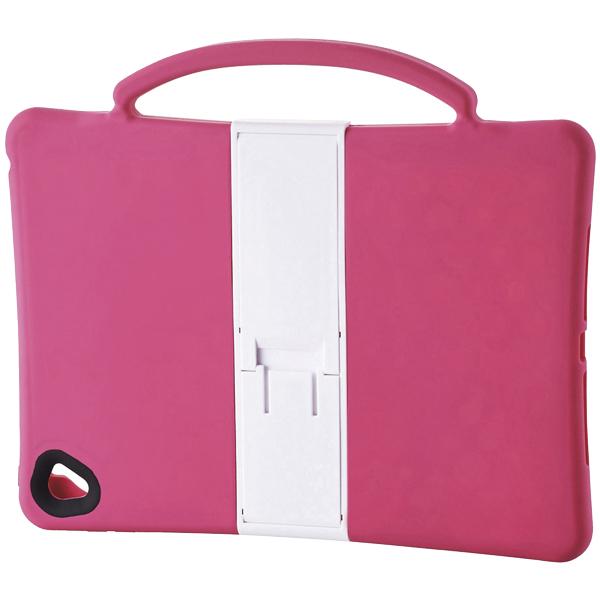 9.7インチiPad Pro/iPad Air 2用耐衝撃シリコンケース/子供向け/ピンク TB-A16SCSHPN(FMDI009681)