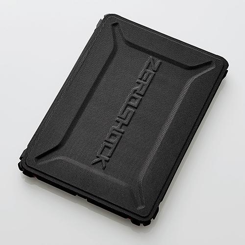9.7インチiPad 2017年モデル用フラップカバー/ZEROSHOCK/フリーアングル/耐衝撃/レッド TB-A179ZEROFRD(FMDI009730)