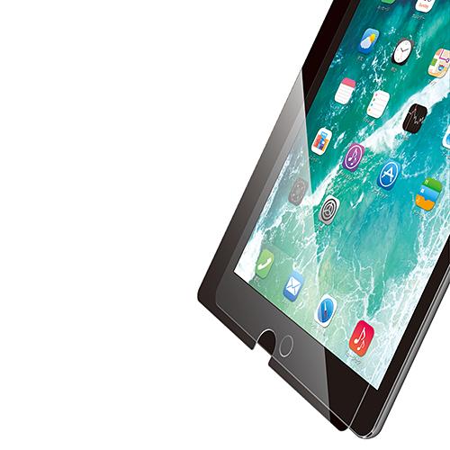 10.5インチiPad Pro 2017年モデル用保護フィルム/高耐久リアルガラス/0.33mm TB-A17FLGG03(FMDI009740)