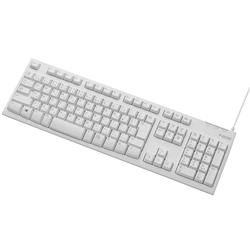 �����u�������L�[�{�[�h/108�L�[/USB/L�T�C�Y/1000���ϋv/�z���C�g TK-FCM062WH(FMDI005307)