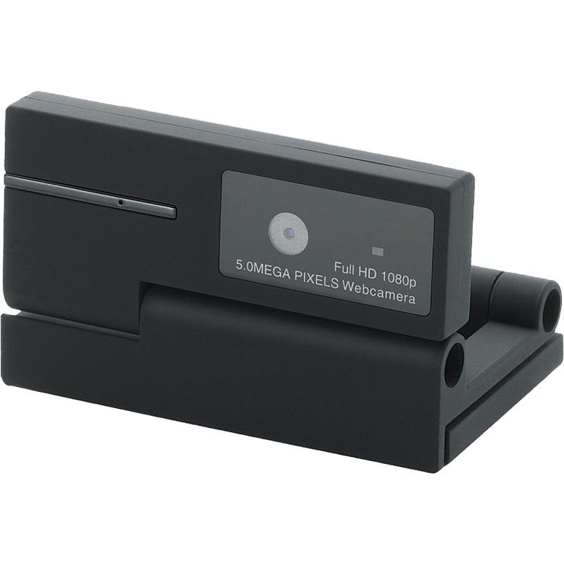 PCカメラ/500万画素/マイク内蔵/動画対応/ブラック UCAM-DLI500TNBK(FMDI004937)
