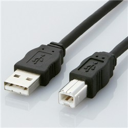 USBケーブル ABタイプ/3.0m(ブラック) USB2-ECO30(FMDI005583)
