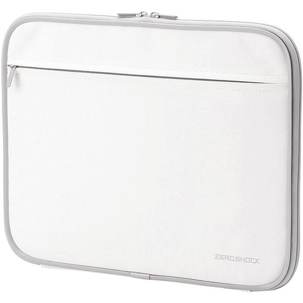 PC用インナーバッグ/ZEROSHOCK/13.3インチ/ホワイト ZSB-IBN13WH(FMDI005931)
