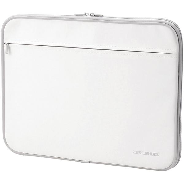 PC用インナーバッグ/ZEROSHOCK/15.6インチ/ホワイト ZSB-IBN15WH(FMDI005933)