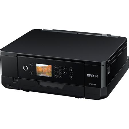 A4インクジェット/カラリオ/多機能モデル/6色染料/無線LAN/Wi-Fi Direct/両面/2.7型液晶/ブラック EP-810AB(FMDI008270)