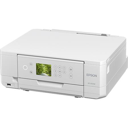 A4インクジェット/カラリオ/多機能モデル/6色染料/無線LAN/Wi-Fi Direct/両面/2.7型液晶/ホワイト EP-810AW(FMDI008271)