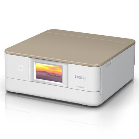 A4インクジェット/カラリオ/多機能/6色/有線・無線/Wi-Fi Direct/両面/4.3型ワイドタッチパネル/ニュートラルベージュ EP-881AN(FMDI012009)