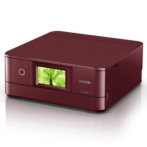 A4インクジェット/カラリオ/多機能/6色/有線・無線/Wi-Fi Direct/両面/4.3型ワイドタッチパネル/レッド EP-881AR(FMDI012010)