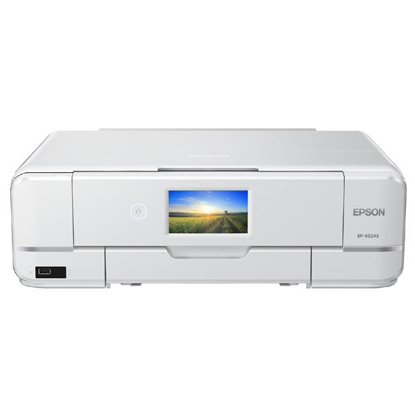 A3カラーインクジェット複合機/Colorio/6色/有線・無線/Wi-Fi Direct/両面/4.3型ワイドタッチパネル EP-982A3(FMDI014077)
