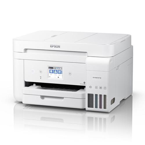 A4インクジェット複合機/エコタンク搭載/4色/有線・無線/Wi-Fi Direct/両面/2.4型タッチパネル/ホワイト EW-M670FTW(FMDI012015)