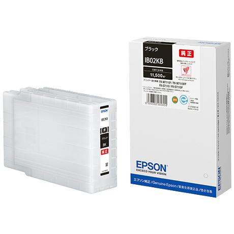 ビジネスインクジェット用 インクカートリッジ(ブラック)/約11500ページ対応 IB02KB(FMDI011306)