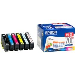 カラリオプリンター用 インクカートリッジ(増量6色パック) IC6CL70L(FMDI002794)