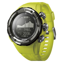 WristableGPS for Trek/GPSトレッキングギア/3D標高ナビゲーション機能搭載/オーガニックイエロー(FMDI006357)