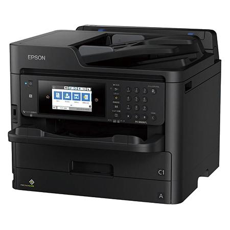 A4カラービジネスインクジェット複合機/大容量インク&低印刷コスト/約34PPM/4.3型タッチパネル/耐久性15万ページ PX-M886FL(FMDI012021)