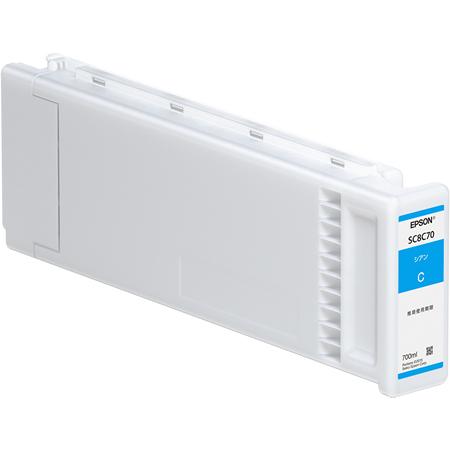SureColor用 インクカートリッジ/700ml(シアン) SC8C70(FMDI011682)