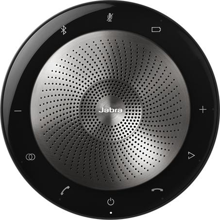 USB・Bluetooth接続・HD音声対応ポータブルスピーカーフォン Microsoft Lync認定 「Jabra Speak 710+ MS」(FMDI014725)
