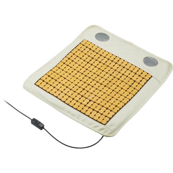USBクーラークッション バンブー(竹素材) ホワイト GH-COOLSB-WH(FMDI005977)