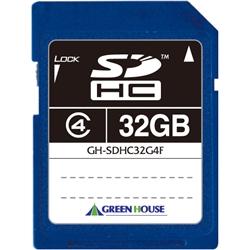 SDHCメモリーカード(MLCチップ) クラス4 32GB GH-SDHC32G4F(FMDI004526)