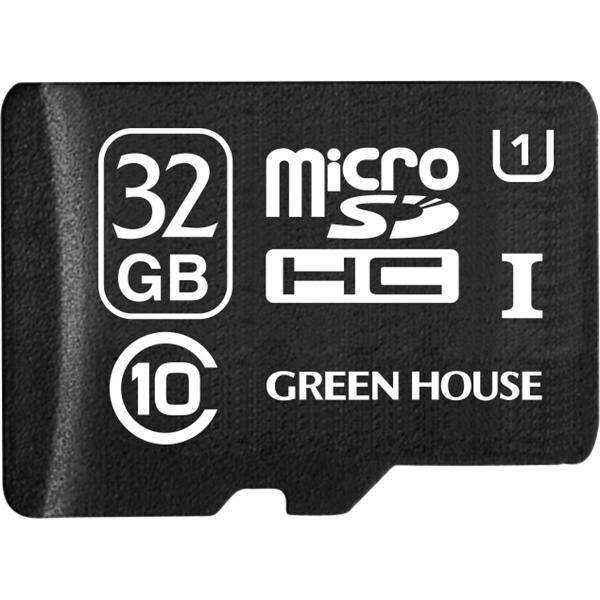 microSDHCカード 32GB UHS-I クラス10 +データ復旧サービス GH-SDMRHC10UDA-32G(FMDI004722)