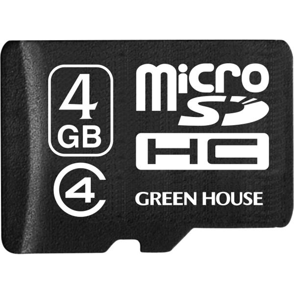 microSDHCカード 4GB クラス4 +データ復旧サービス GH-SDMRHC4DA-4G(FMDI004723)