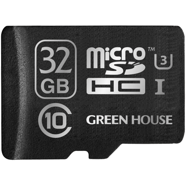 microSDHCカード UHS-I U3 クラス10 32GB GH-SDMRHCUA32G(FMDI004725)