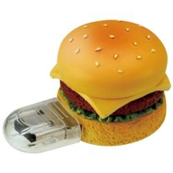 USBフラッシュメモリ ファーストフード型 2GB ハンバーガー GH-UFD2GF-HB(FMDI003776)