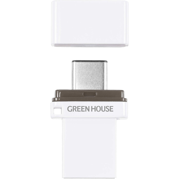 Type-C/A USB3.1メモリー 32GB GH-UFY3CA32GWH(FMDI014431)