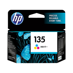 HP 135 プリントカートリッジ カラー (7ml)(FMDI000997)