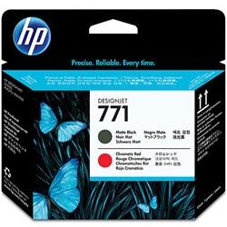 HP771 プリントヘッド マットブラック /クロムレッド CE017A(FMDI011816)