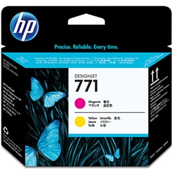 HP771 プリントヘッド マゼンタ /イエロー CE018A(FMDI011817)