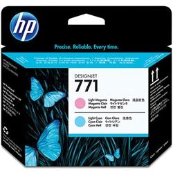 HP771 プリントヘッド ライトマゼンタ /ライトシアン CE019A(FMDI011818)