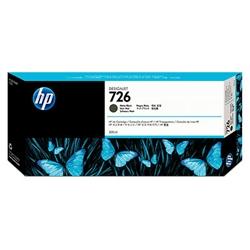 HP726 インクカートリッジ マットブラック 300ml CH575A(FMDI011824)