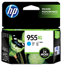HP 955XL インクカートリッジ シアン L0S63AA(FMDI011900)