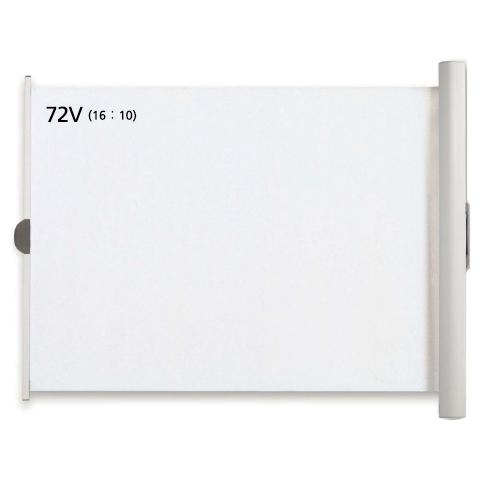 WOL-FXシリーズ 72型ワイド(16:10)ケース一体型マグネット貼付式モバイルスクリーン WOL-FX72V(FMDI007125)