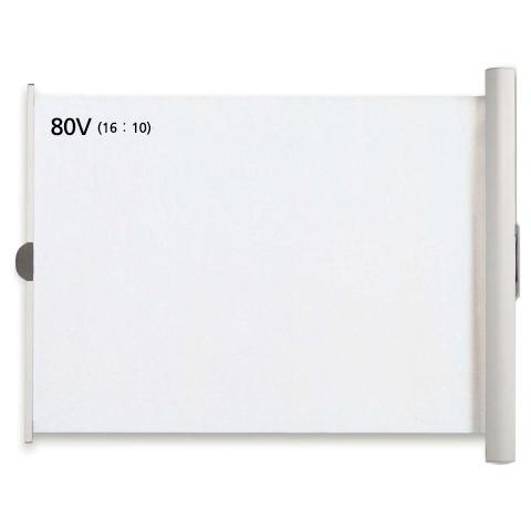 WOL-FXシリーズ 80型ワイド(16:10)ケース一体型マグネット貼付式モバイルスクリーン WOL-FX80V(FMDI007126)