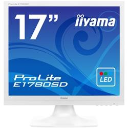 17�^�t���f�B�X�v���C ProLite E1780SD �s���A�z���C�g E1780SD-W1(FMDI005215)