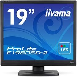 19型液晶ディスプレイ ProLite E1980SD-2 (LED) マーベルブラック(FMDI006032)
