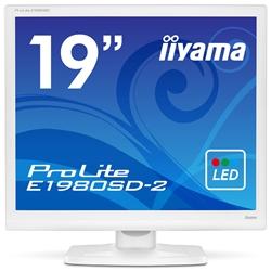 19型液晶ディスプレイ ProLite E1980SD-2 ピュアホワイト E1980SD-W2(FMDI005216)