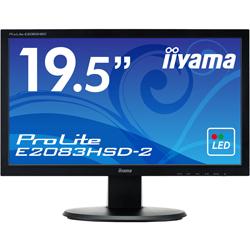 19.5型ワイド液晶ディスプレイ ProLite E2083HSD-2 マーベルブラック E2083HSD-B2(FMDI005217)