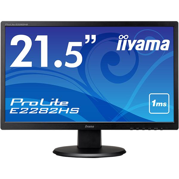 21.5型ワイド液晶ディスプレイ ProLite E2282HS (フルHD/HDMI/DVI/D-SUB/スピーカー搭載) ブラック(FMDI010700)