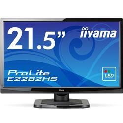 21.5型ワイド液晶ディスプレイ ProLite E2282HS マーベルブラック E2282HS-GB1(FMDI005218)