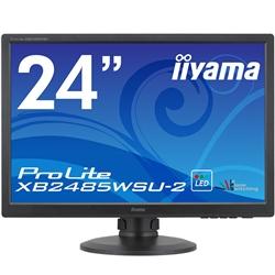 24.1型ワイド液晶ディスプレイ ProLite XB2485WSU-2 (LED、IPS、WUXGA解像度) マーベルブラック(FMDI006036)