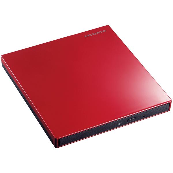 USB3.0/2.0接続 バスパワー対応 ポータブルブルーレイドライブ オリエントレッド BRP-UT6SR(FMDI006910)